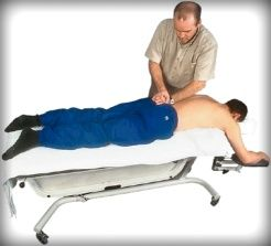 lower back massage